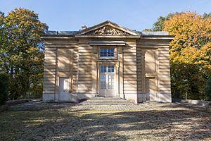 Pavillon du Butard - Main facade