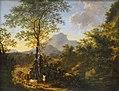 Paysage avec paysans conduisant un troupeau - Willem de Heusch - Musée du Louvre.jpg