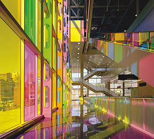 Palais des congrès de Montréal - Inside the Palais des congrès
