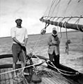 Pearling Lugger, Thursday Island, 1936 (38899677804).jpg