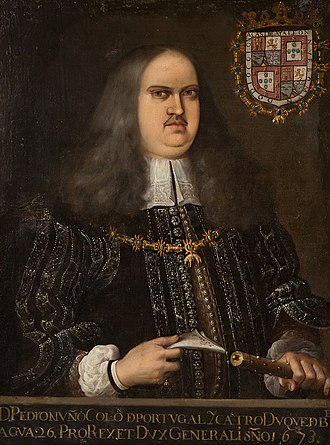 Portuguese Mexican - Pedro Nuño Colón de Portugal, 6th Duke of Veragua