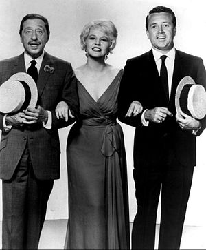 Harold Arlen - Arlen performs with Peggy Lee and Vic Damone in 1961.