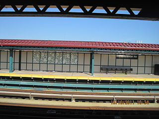 St. Lawrence Avenue station New York City Subway station in the Bronx