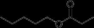 Pentyl propanoate - Image: Pentyl propionate
