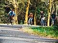People cycling at path.jpg
