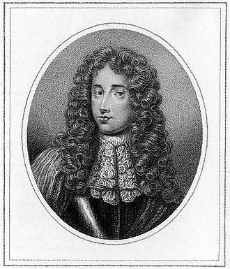 Peregrine Osborne, 2nd Duke of Leeds - The Duke of Leeds. Stipple engraving after Jean Petitot, c. 1710.
