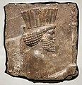 Periodo achemenide, rilievo con guardia persiana, da persepoli, 480 ac ca. 01.jpg