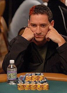 Perry Friedman American poker player