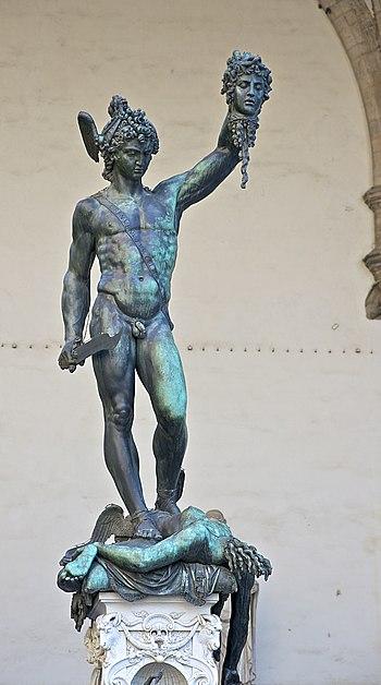 Perseus Medusa Cellini Lanzi Florence