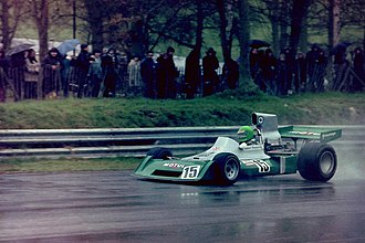 Henri Pescarolo - Pescarolo at the 1974 Race of Champions