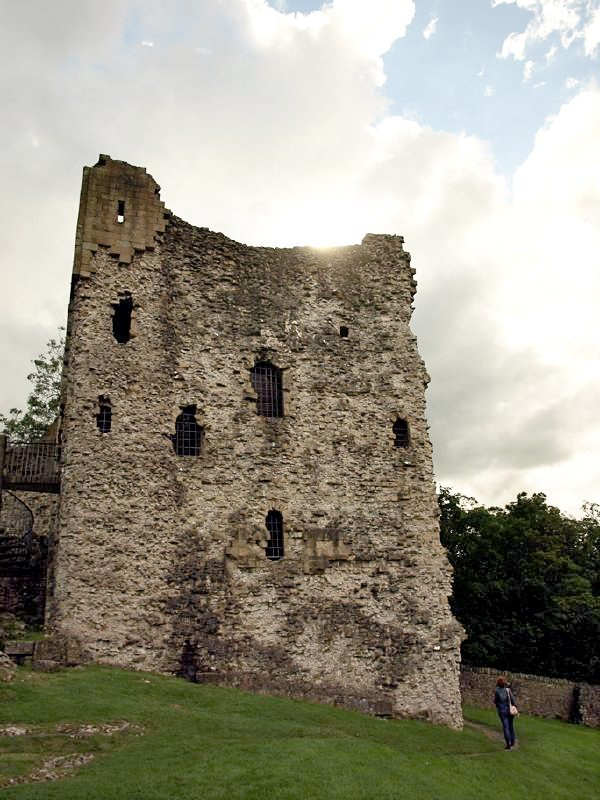 Peveril Castle keep, 2008