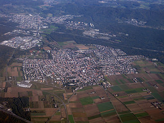 Pfungstadt - Aerial photograph