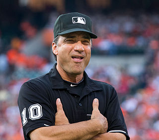 baseball umpire from the United States