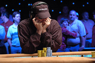Phil Hellmuth - Phil Hellmuth at the 2006 World Series of Poker.