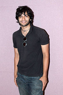 Photo Of Ali Fazal From The Javed Ali's song recording for film 'Bat Bann Gayi'.jpg