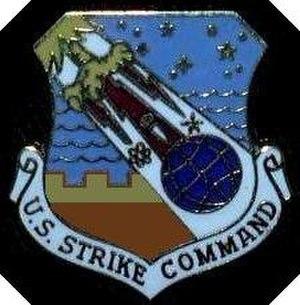 United States Strike Command - Image: Photo of U.S. Strike Command emblem historical