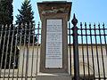 Piazzale donatello, cimitero inglese 04 lapide 01.JPG