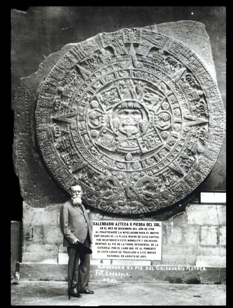 Piedra del sol Venustiano Carranza