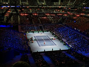 Stade Pierre-Mauroy - Stade Pierre-Mauroy during the 2017 Davis Cup final