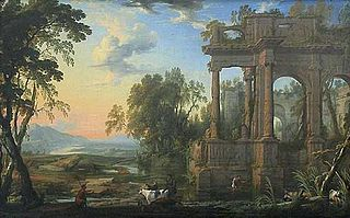 Landscape with Ruins and a Pastor