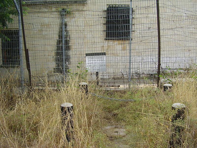 מקום בריחת אסירי המחתרות מבית הסוהר בירושלים