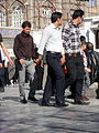 Pilgrims and People around the Holy shrine of Imam Reza at Niruz days - Mashhad - Khorasan - Iran 061.JPG