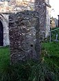 Pillar stone at St Mary's church - geograph.org.uk - 599618.jpg