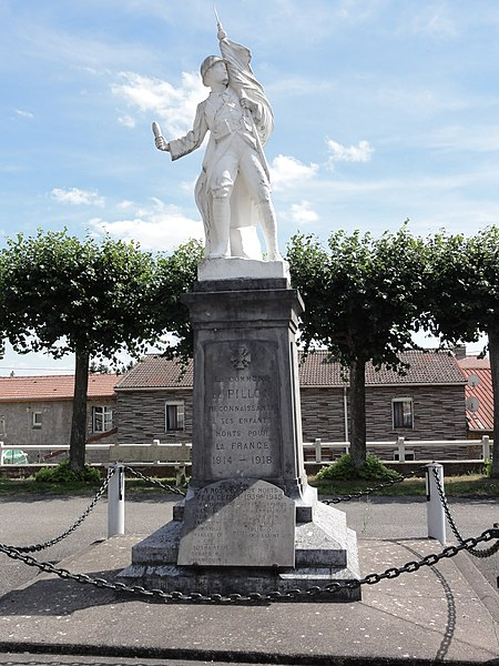 Pillon (Meuse) monument aux morts
