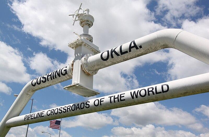 File:Pipeline monument, Cushing OK.jpg