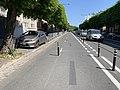 Piste cyclable Avenue Gabriel Péri Montreuil Seine St Denis 6.jpg