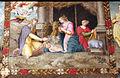 Pittore tosco-emiliano, misteri del rosario, 1550-1600 circa 04 natività.JPG