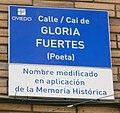 Placa de la calle Gloria Fuertes.jpg