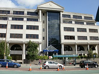 Welsh Development Agency - Agency's headquarters in Cardiff