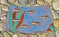"""Plastik """"Fische in der Liesing"""" 10 by Kollegium Kalksburg.jpg"""
