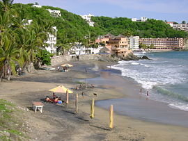Playa Santiago in Manzanillo