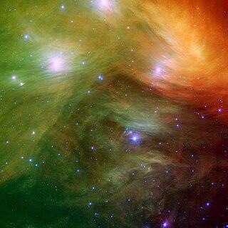 NGC 1435 Diffuse reflection nebula within the Pleiades
