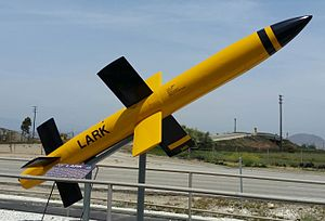 SAM-N-2 Lark - This SAM-N-2 Lark missile airframe is preserved at the Point Mugu Missile Park near Naval Air Station Point Mugu.