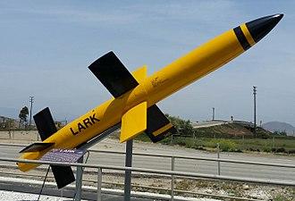 SAM-N-2 Lark - This SAM-N-2 Lark missile airframe is preserved at the Point Mugu Missile Park near Naval Air Station Point Mugu.