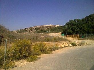 2006 Hezbollah cross-border raid - The site of the cross-border raid