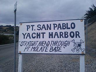 Point San Pablo Yacht Harbor - Image: Point San Pablo yacht harbor