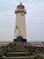 Point of Ayr lighthouse - geograph.org.uk - 578713.jpg