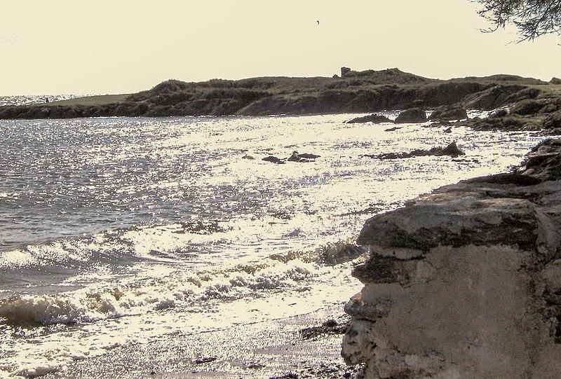 La plage de Penvins, Sarzeau dans le Morbihan Bretagne