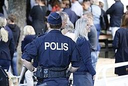 Polis i Almedalen