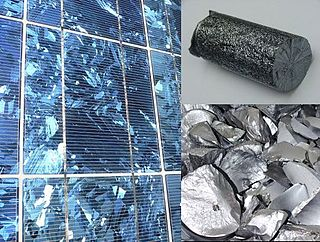 Polycrystalline silicon high purity, polycrystalline form of silicon