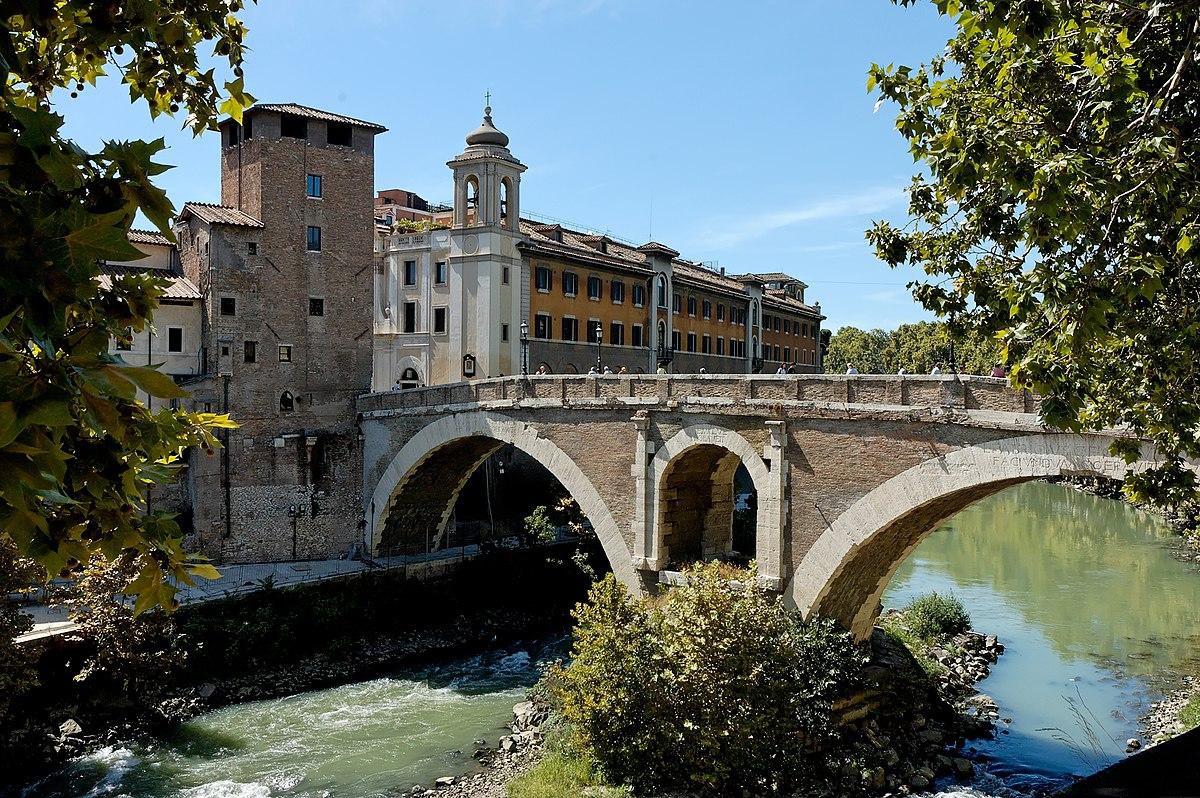 Ponte fabricio wikipedia for Disegni di ponte anteriore