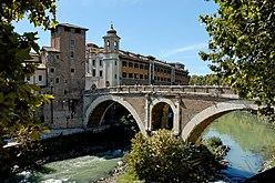 Ponte Fabricio Rome Pierleoni