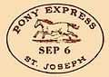 Pony Express'60 West bound 1860.jpg