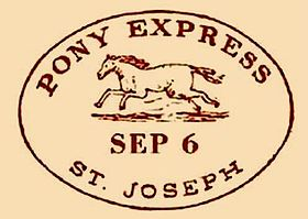 Image illustrative de l'article Pony Express