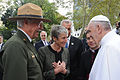 Pope Francis with Sally Jewell (21761026512).jpg