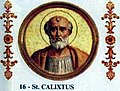 Pope St Callistus I the Martyr of Rome 217-222.jpg